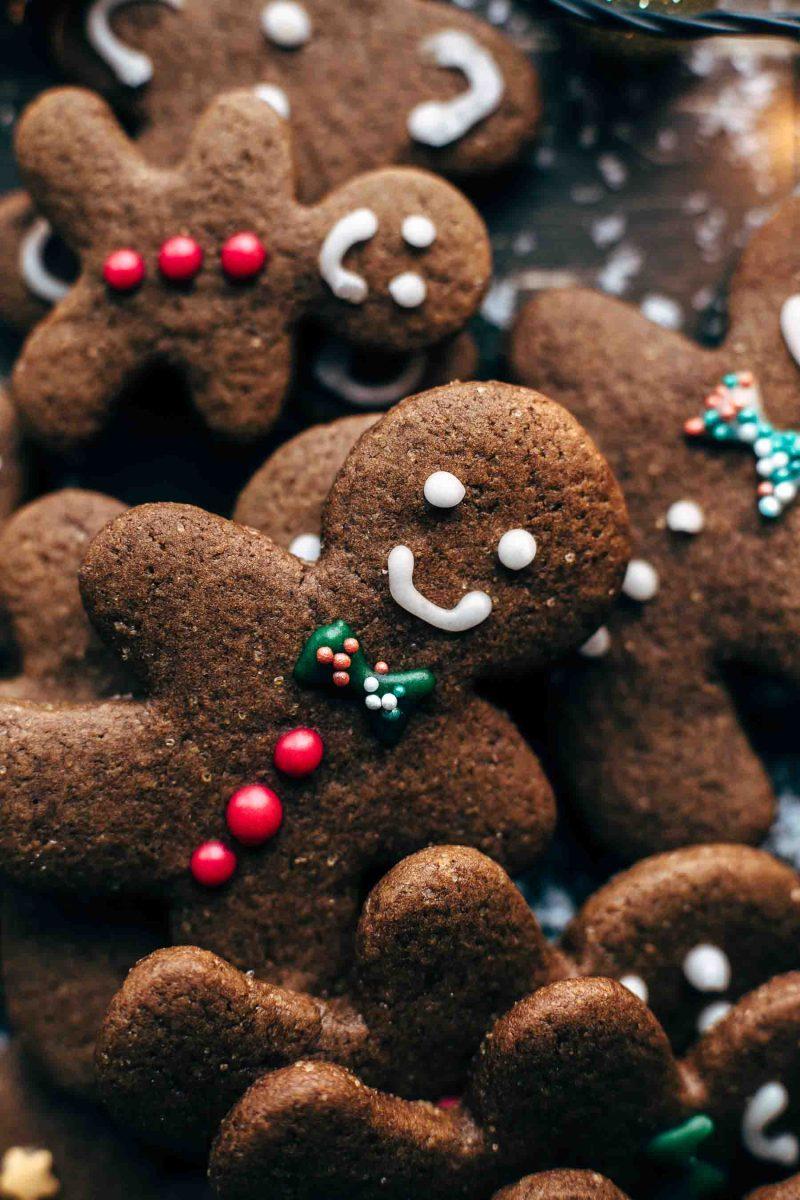 Easy Gingerbread Men Cookies