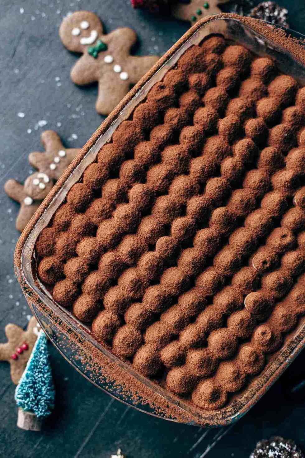 Eggnog Gingerbread Tiramisu