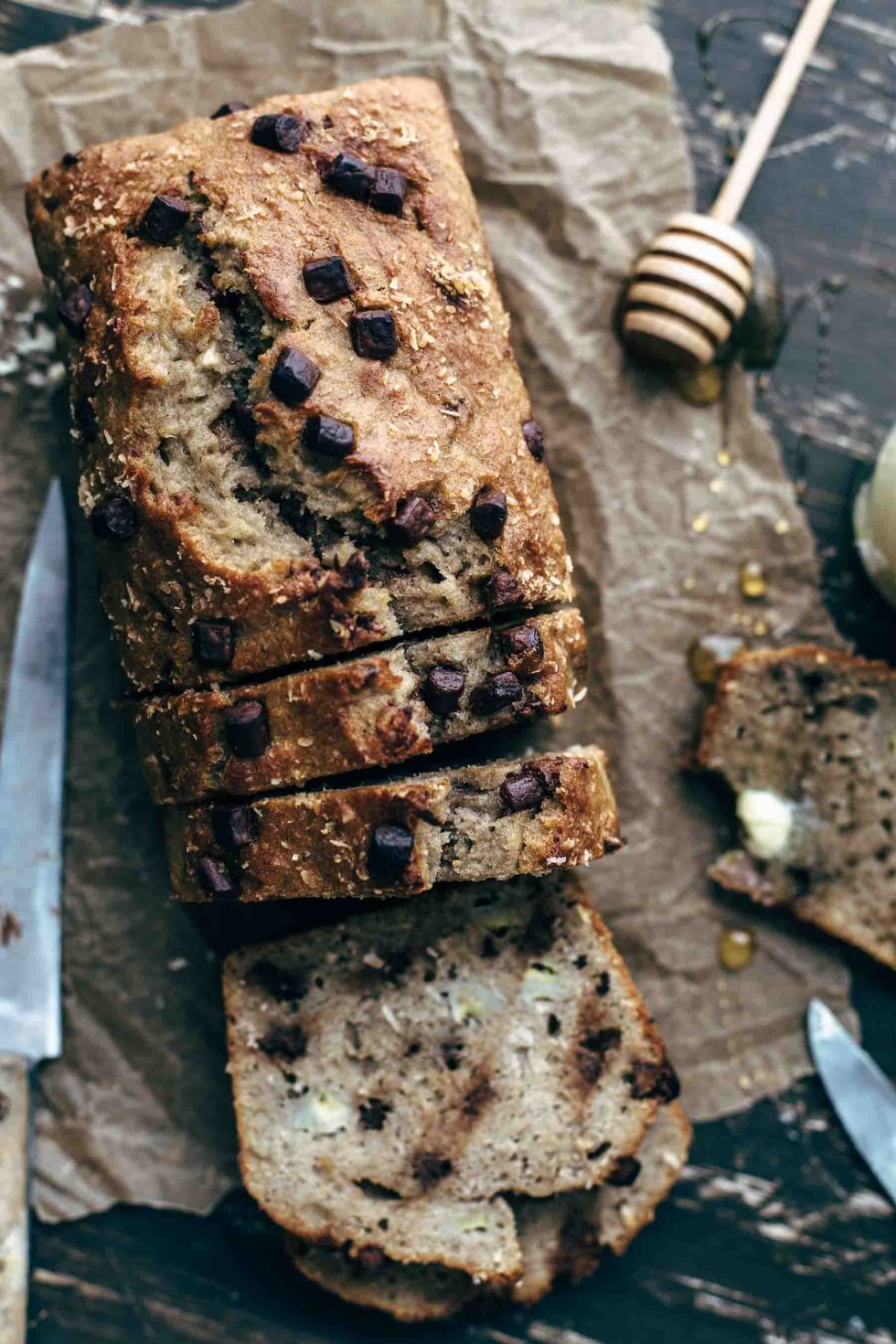 Best chocolate banana coconut bread recipe alsothecrumbsplease chocolate banana coconut bread recipe forumfinder Images