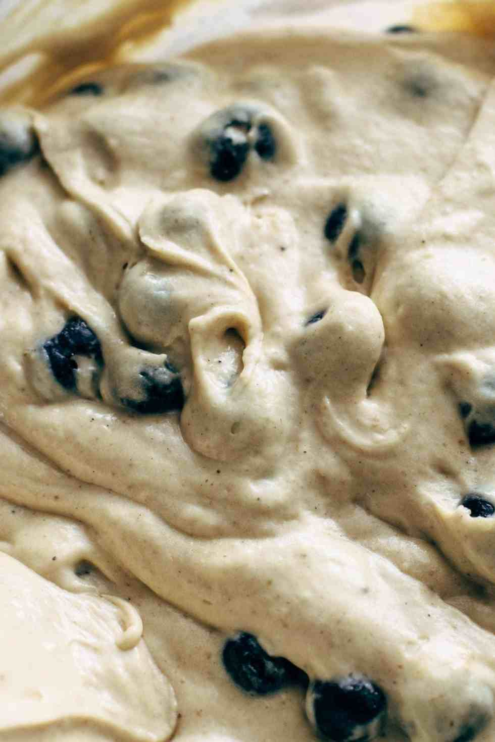 Blueberry Bread with Sour Cream