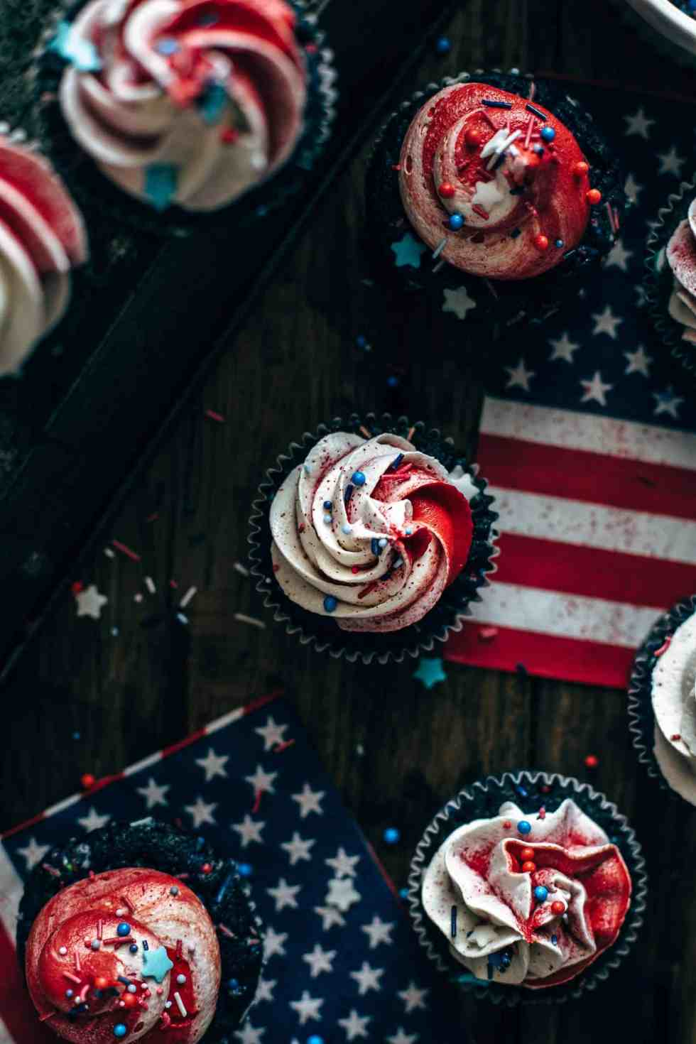4th of July Cupcakes Recipe