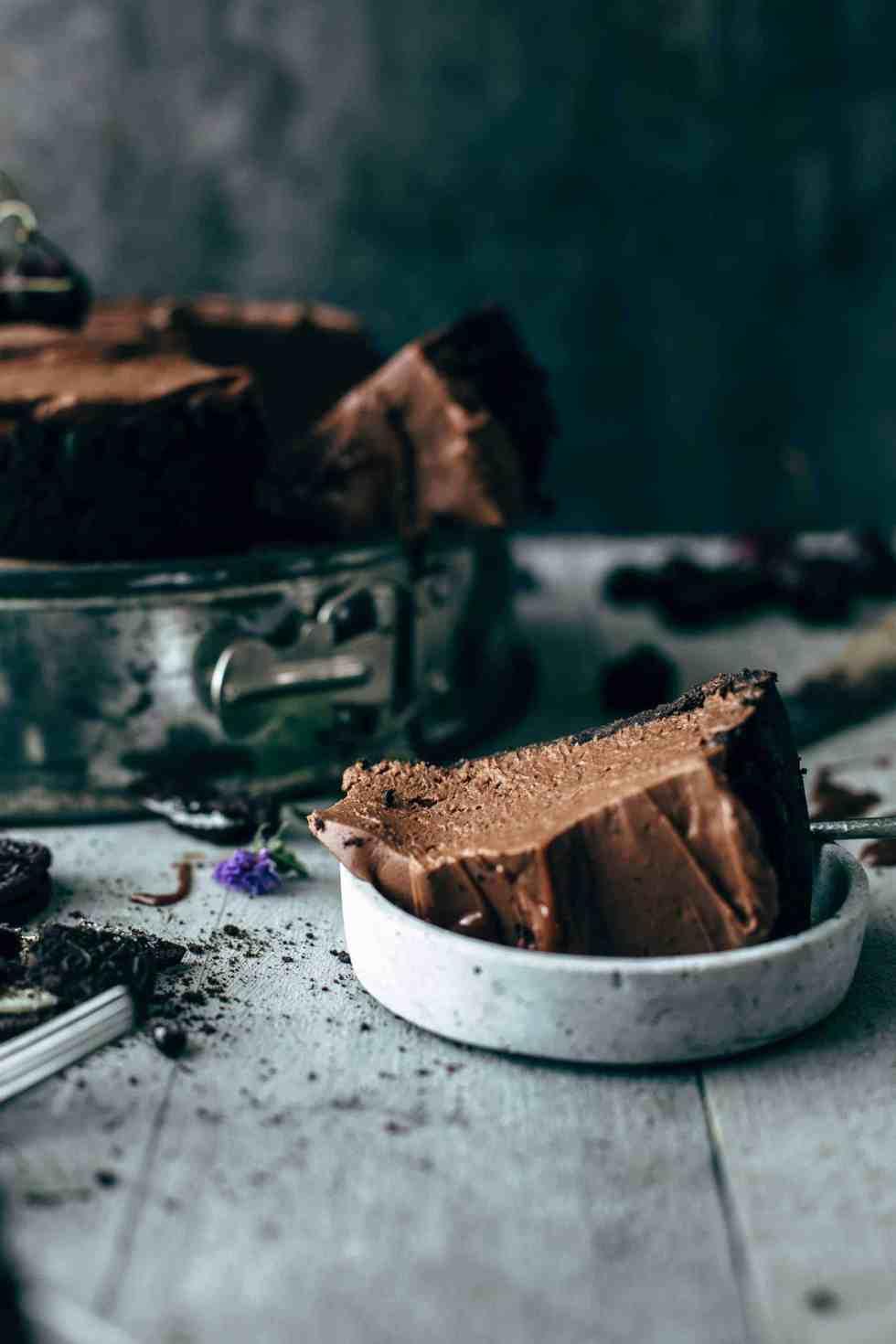 No-bake Chocolate Cheesecake Recipe