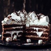 Hot Chocolate Cake Recipe