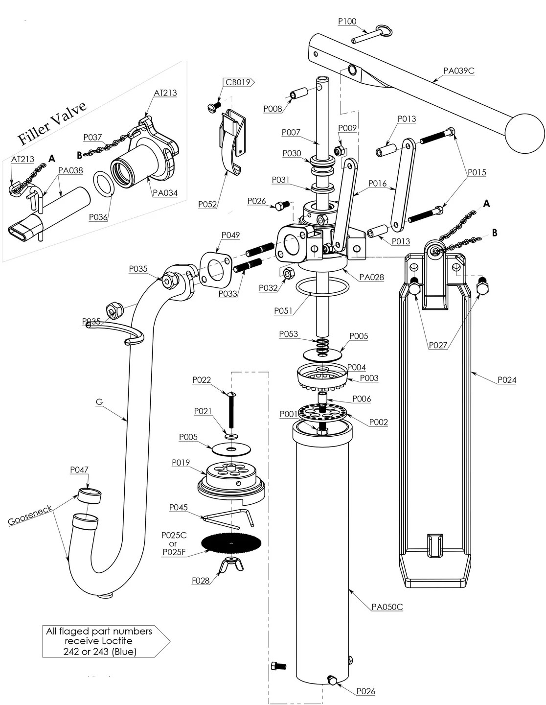 Pump Parts Diagram