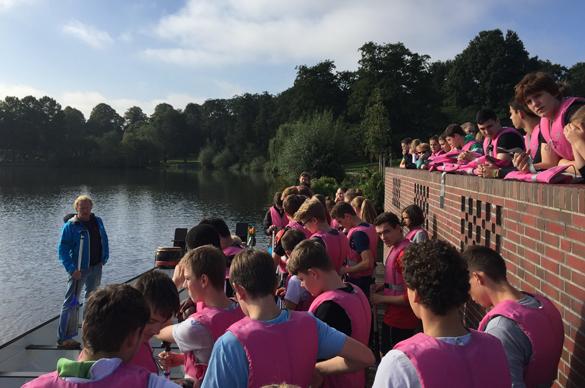 Drachenbootrennen auf dem Stadtparksee