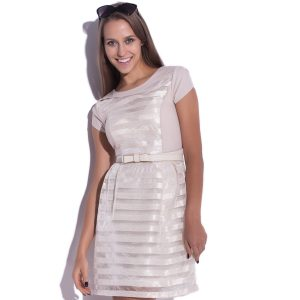 Robe en mousseline de soie Delight