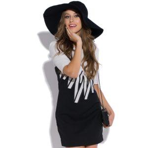 Sukienka zig-zac