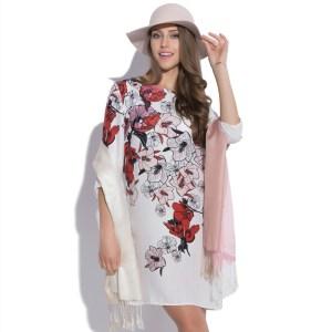 Robe à imprimé fleuri Illusion