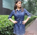 Polka Dot Kleid Starry Night