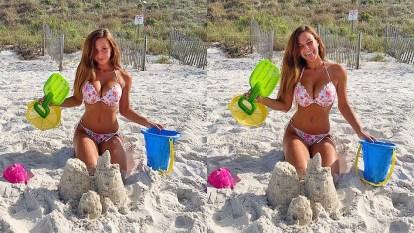 castelos na praia