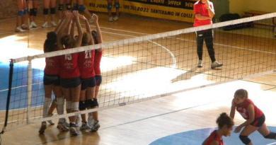 L'esultanza della Leonessa Volley