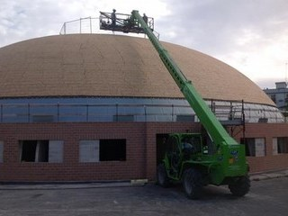 Cupola di Via Piccinni, continuano i lavori di ritrutturazione