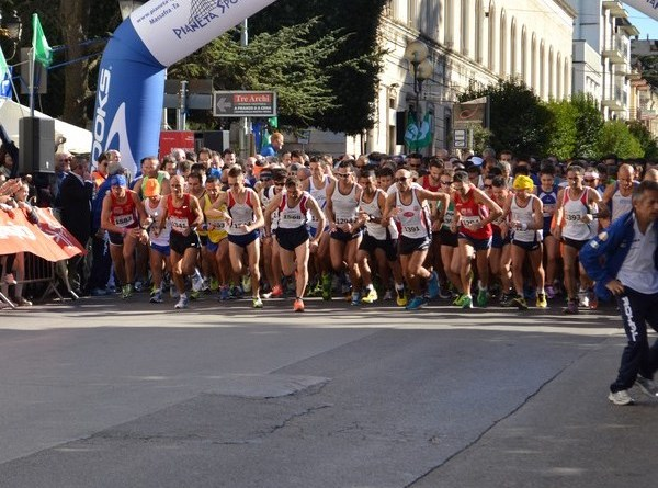 La partenza del 25° Trofeo Auxilium