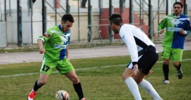 Colamassaro, autore del primo goal della Fortis