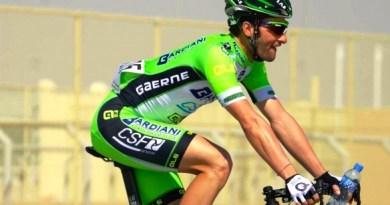 Paolo Colonna con la maglia della Bardiani-CSF