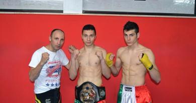 Da sinistra, G. Cifarelli, D. Lomurno e P. Incampo