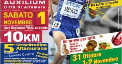 La Locandina del 26° Trofeo Auxilium