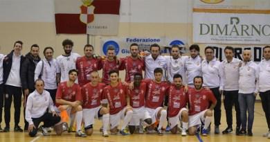 Foto di gruppo Alta Futsal