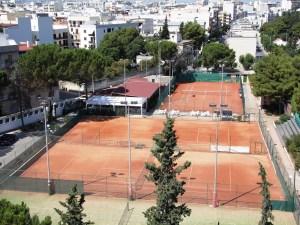 I campi del Circolo Tennis Andria
