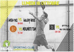 Sporting Club Torneo Padel