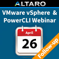 ESXI & PowerCLI Webinar Follow-up: Recording and Q&A