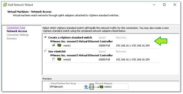vSphere Networking Basics - Part 1