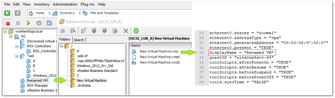 Fixing VM folder naming Discrepancies