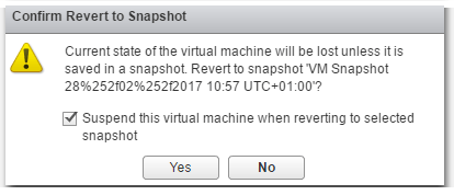 How VMware snapshots work in vSphere and how to use them