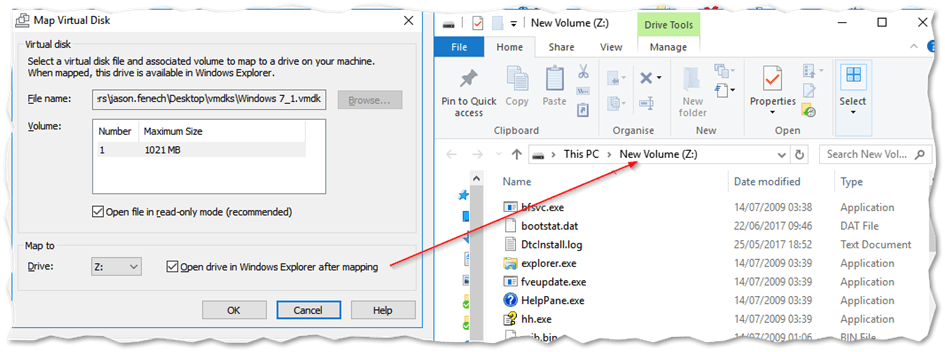How to Extract Content from VMDK Files