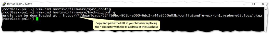 3 ESXi Backup Methods using the Command-Line