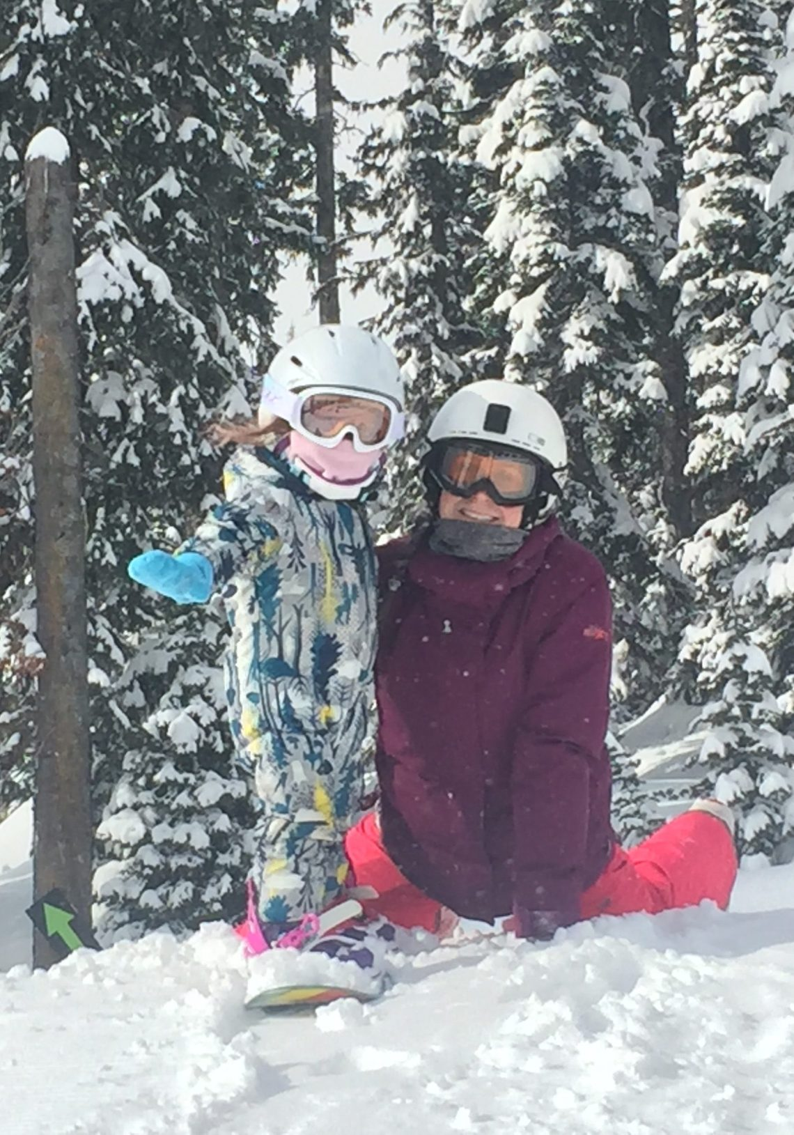 Parenting & Learning to snowboard