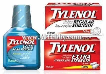دواء drug تيلينول Tylenol