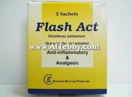 دواء drug فلاش أكت Flash act