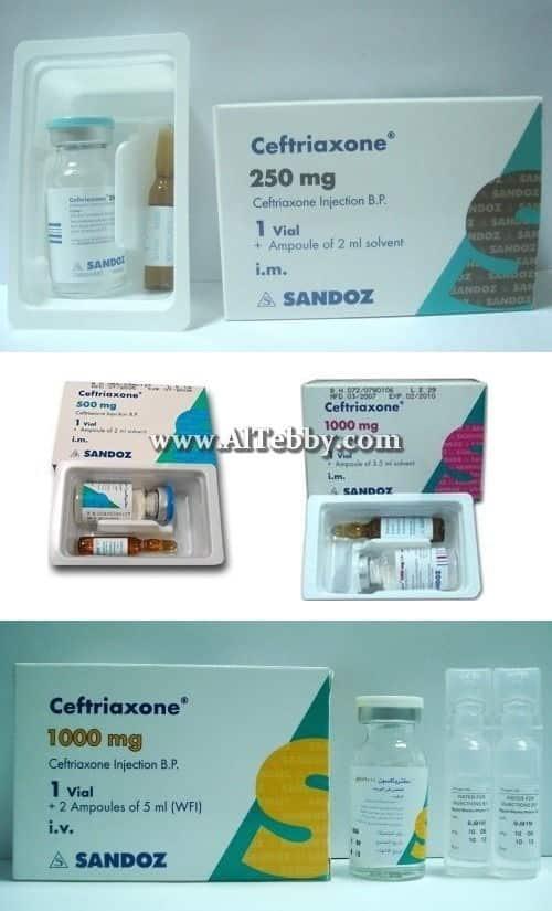 سيفترياكسون Ceftriaxone دواء drug