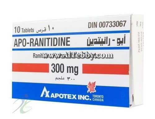 أبو-رانتيدين Apo-ranitidine دواء drug