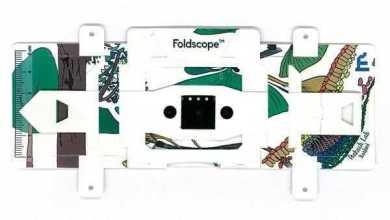 فولدسكوب Foldscope يكبر أكثر من 2000 مرة وثمنه دولار واحد فقط