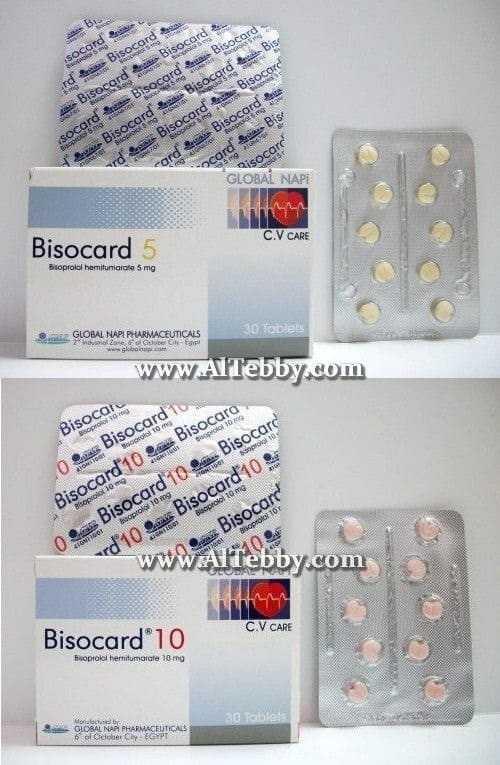 بيزوكارد Bisocard الطبي دليل الدواء وعلاج المرض