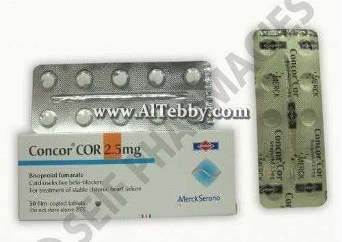 كونكور كور Concor cor دواء drug