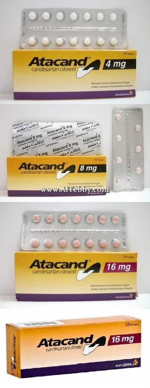 أتاكاند Atacand دواء drug