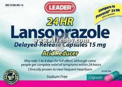 لانسوبرازول Lansoprazole دواء drug