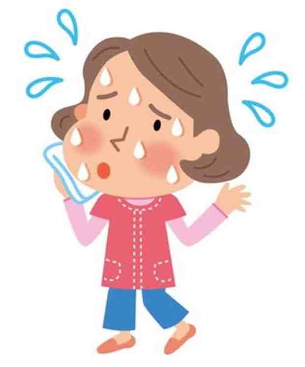 دراسة حديثة الظهور المبكر للهبات الساخنة يرتبط بزيادة خطر أمراض القلب!