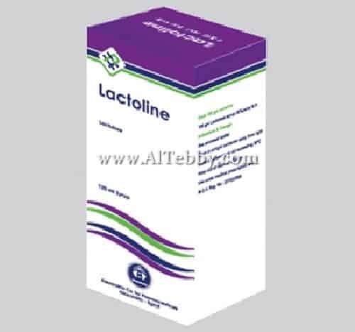 لاكتولين Lactoline دواء drug