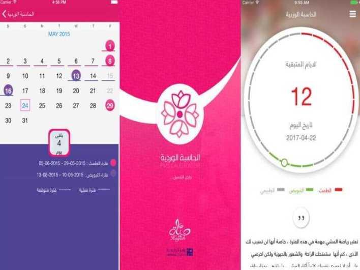 الحاسبة الوردية