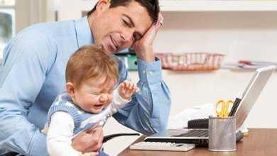 دراسة: الرجال يعانون أيضًا من اكتئاب ما بعد الولادة