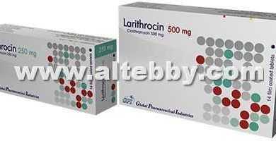 Larithrocin drug