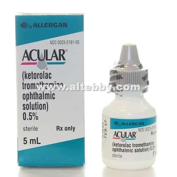 دواء drug اكيولار Acular
