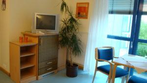 Bewohnerzimmer im Ev. Altenheim Wahlscheid