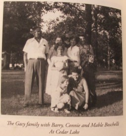 John Wayne Gacy as a child