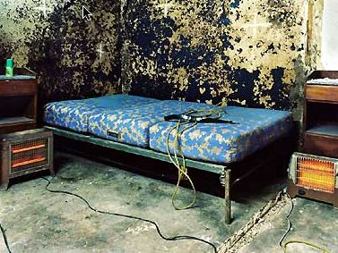 Bed in Slaughter Room