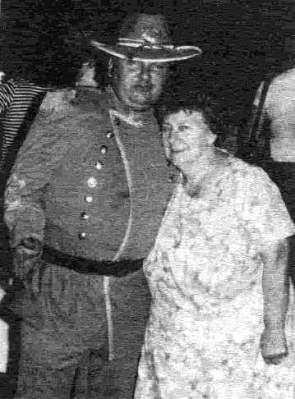 John Wayne Gacy with his mother